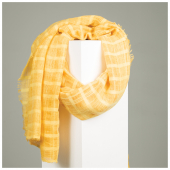 remi-self-check-scarf-r225-yellow