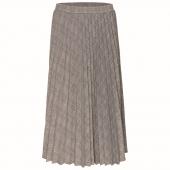 poetry-esma-check-pleat-skirt-r699