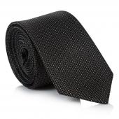 edgar-plain-charcoal-silk-tie-r399