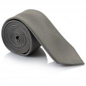 esmond-plain-silver-grey-silk-tie-r399