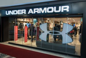 under armour v&A store